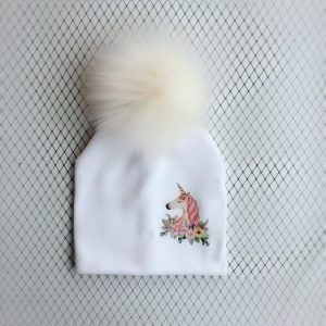 cap unicorn with pompom drawing buy