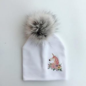 cap unicorn with pompom teenager clothing unicorn
