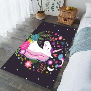 carpet unicorn head of unicorn 91x152cm price