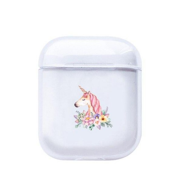 case airpods unicorn of profile at flowers case airpods unicorn