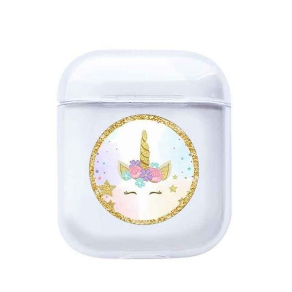 case airpods unicorn star golden at sell