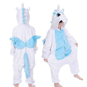 combination unicorn blue girl 12 13 years 138 146 cm