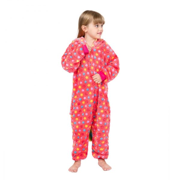 combination unicorn girl overpyjama red 12 13 years 138 146 cm at sell