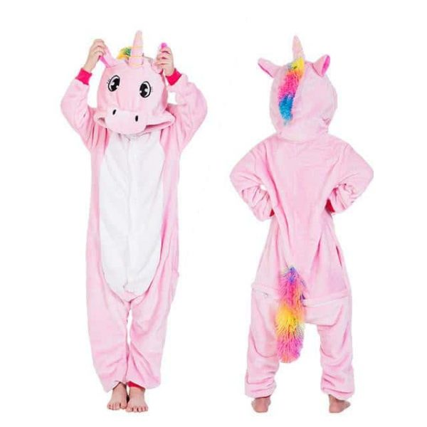 Unicorn pajamas for girl 8 years old