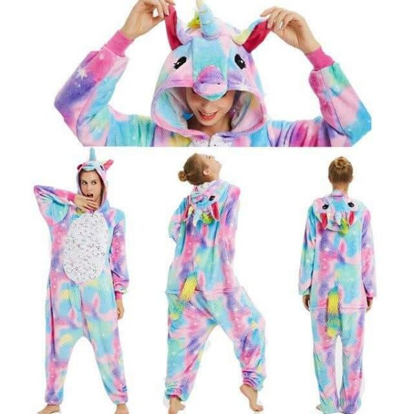 Unicorn pajamas woman