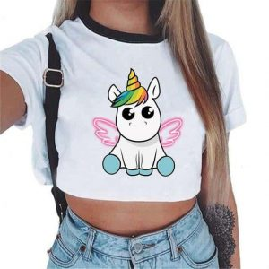 crop top unicorn kawaii mr buy