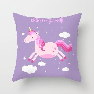 cushion pillow unicorn quote at sell