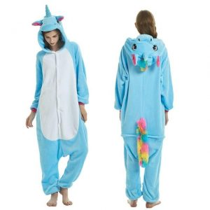 disguise unicorn adult blue sayan xl at sell