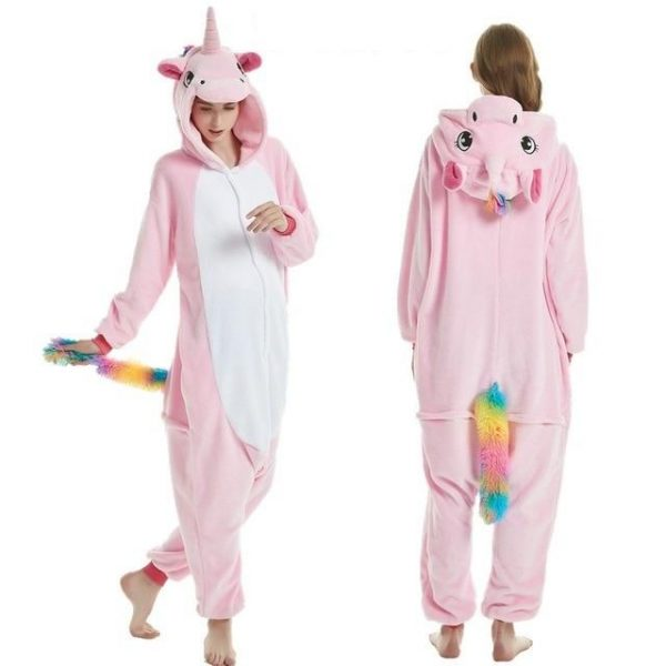 disguise unicorn adult tail multicolored s