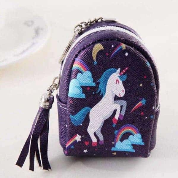 door change unicorn in form of small bag pink not dear