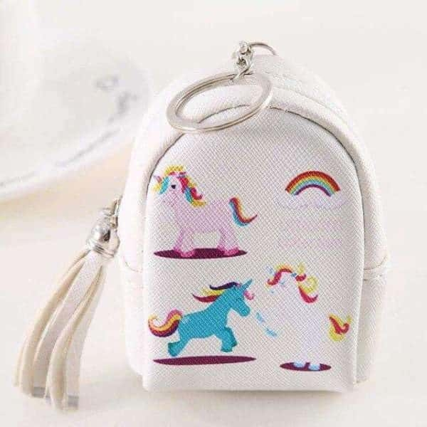 door change unicorn in form of small bag pink price