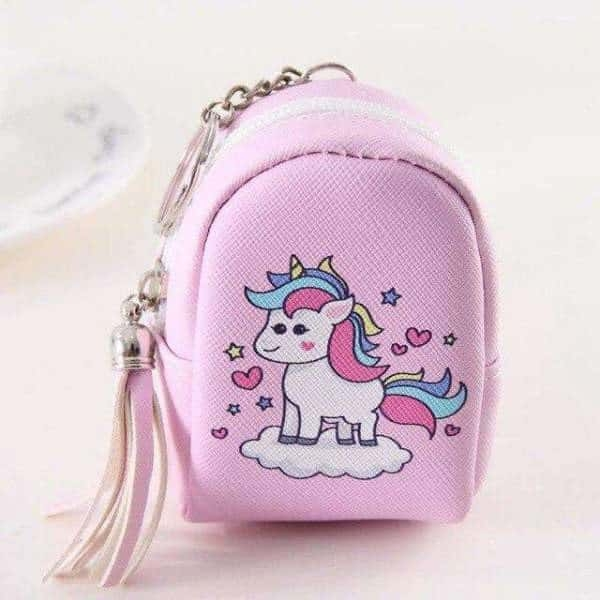 door change unicorn in form of small bag rose