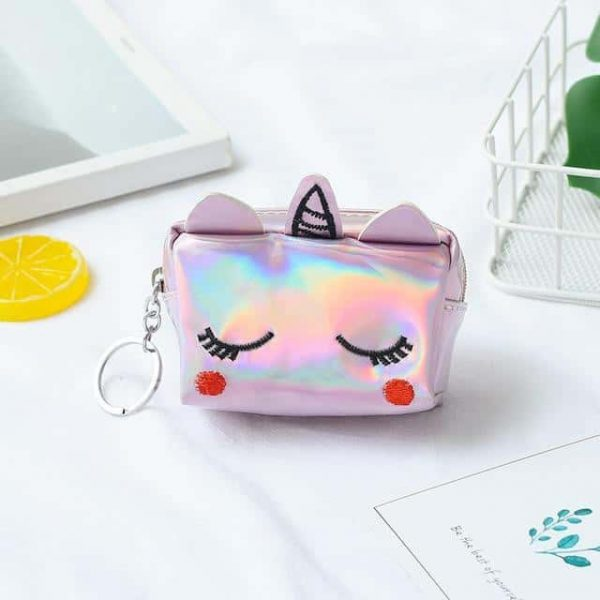 door change unicorn kawaii girl white round at sell