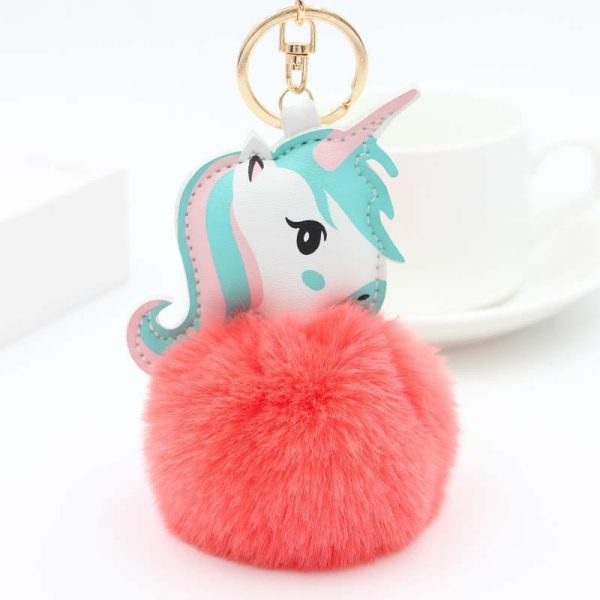 door key unicorn ball of fur rose
