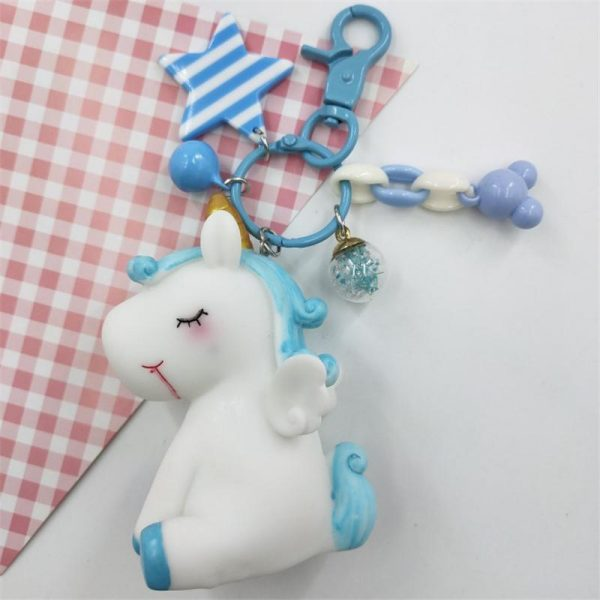 door key unicorn blue baby buy