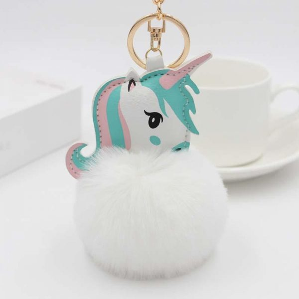 door key unicorn cloud accessory