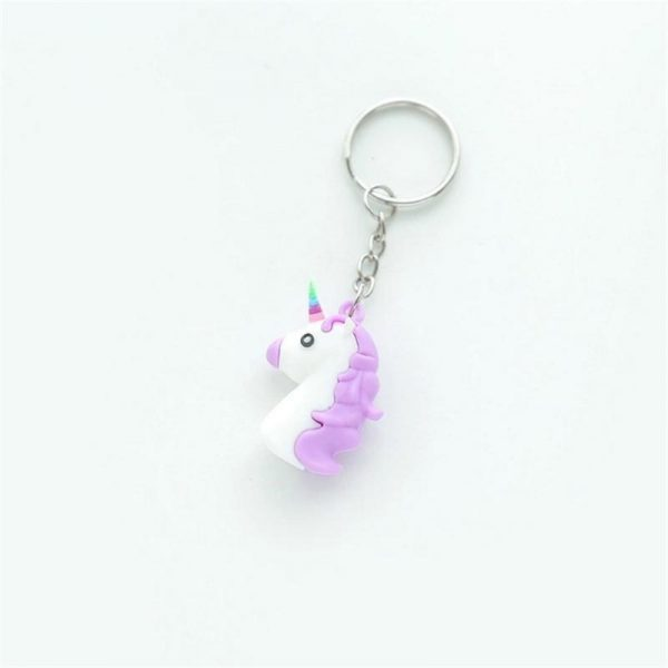door key unicorn mini emoji purple not dear