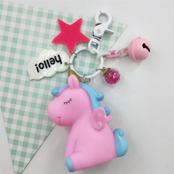 door key unicorn pink and blue buy