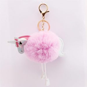 door key unicorn sure paws ball of fur pink at sell
