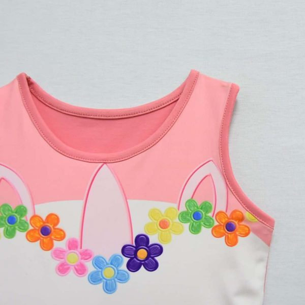 dress unicorn for child pink 2t