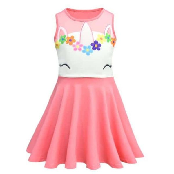 dress unicorn for child pink 2t price