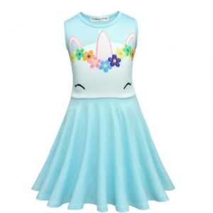 dress unicorn for child sky blue 10.buy