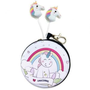 earpiece unicorn kawaii earphone unicorn