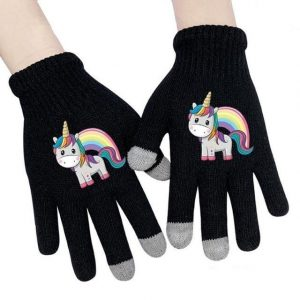 glove unicorn bow in sky glove unicorn