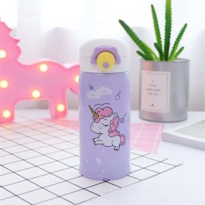 gourd unicorn kawaii in stainless steel 500ml purple unicorn backpack store