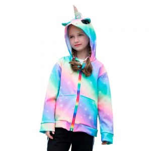 jacket unicorn girl 10 years 12 jacket unicorn