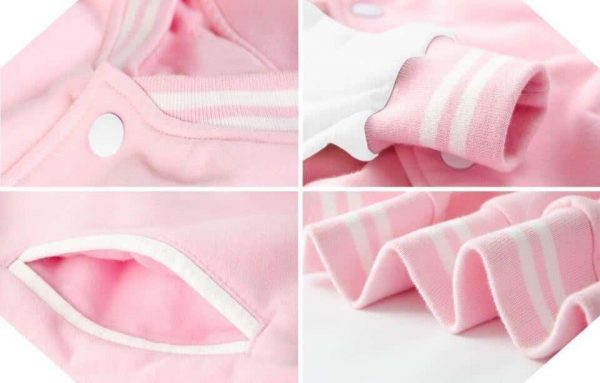 jacket unicorn teddy pink s at sell