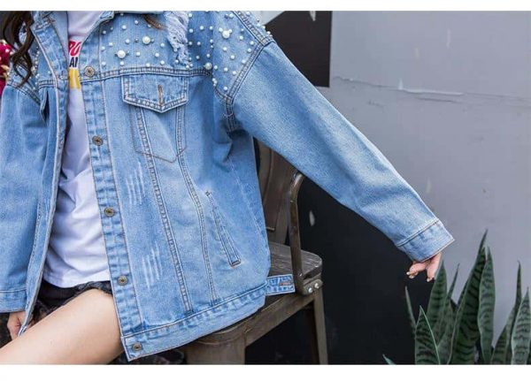jacket unicorn women in jeans xl at sell