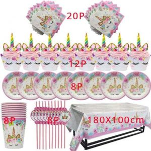 kit anniversary unicorn girl decoration unicorn