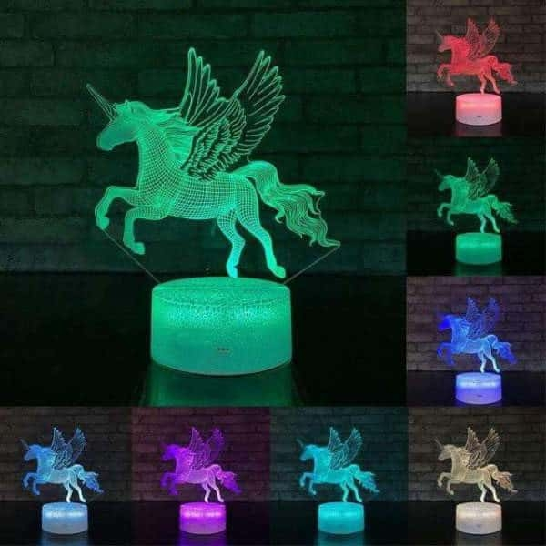 lamp unicorn at to pose 16 colors unicorn backpack store