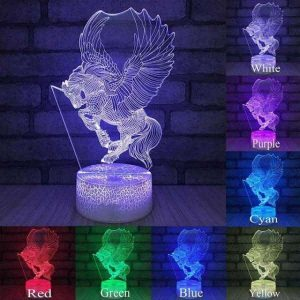 lamp unicorn bright 16 colors price