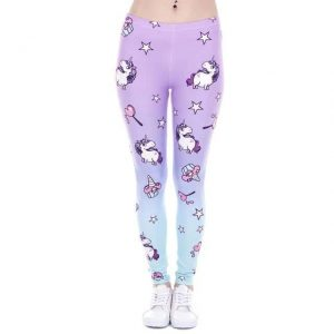 leggings unicorn bow in sky buy