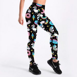 leggings unicorn donuts