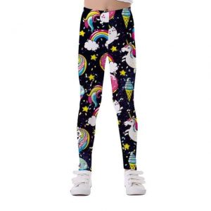 leggings unicorn girl black horn 10 11 buy