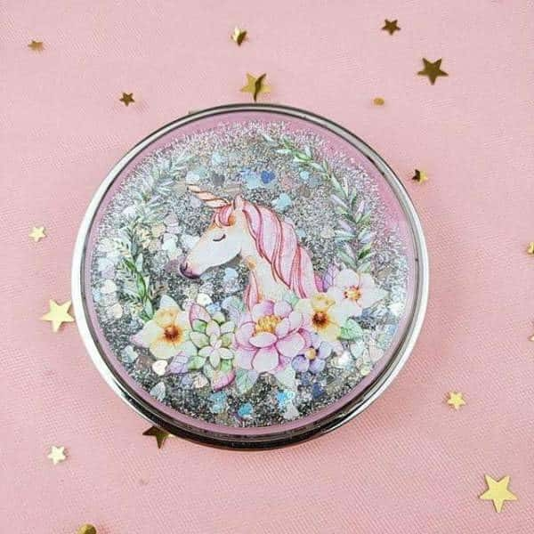 mirror of poached unicorn makeup at sell