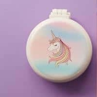 mirror of poached unicorn with comb girl unicorn backpack store