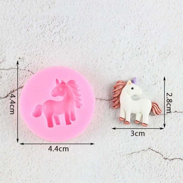 mold in form of unicorn at sell