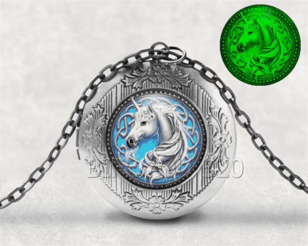 necklace unicorn celtic at sell