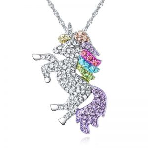 necklace unicorn fancy white price