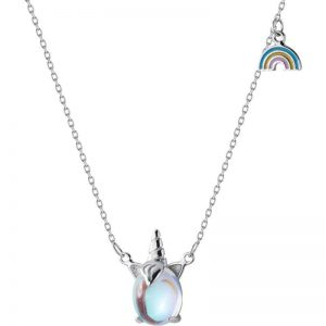 necklace unicorn money 925 to sell