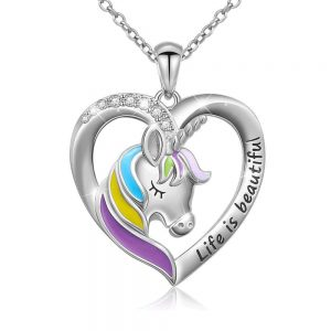 necklace unicorn pendant money buy