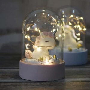 night light unicorn ball pink buy