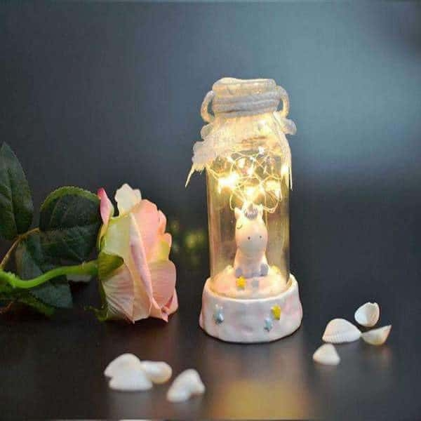 night light unicorn child blue price