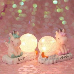 night light unicorn kawaii blue buy