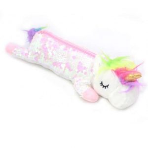 pencil case unicorn plush not dear