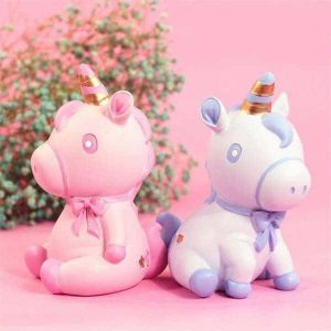 piggy bank unicorn baby mr blue
